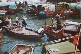 Floating Village In Aberdeen - China (Hong Kong)