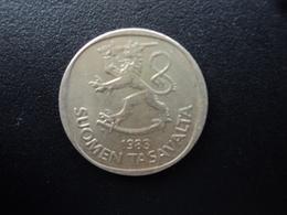 FINLANDE : 1 MARKKA  1983 K  Tranche B *  KM 49a    TTB - Finland