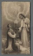 ES5018 SS. Sacramento ORDINE SACRO SACERDOZIO EB 545 FUSTELLATO RICORDINO BARRA NAPOLI Santino - Religione & Esoterismo