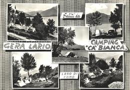 72376798 Lago Di Como Camping Ca`Bianca  Firenze - Non Classés
