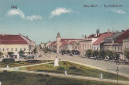 ROUMANIE . CLUJ . Piata Unirii . Egyesülési- Tèr (1926) - Roumanie