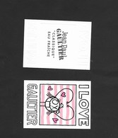 CARTE DE J.P.GAULTIER FEMME - Perfume Cards