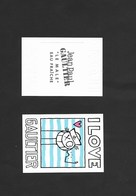 CARTE DE J.P.GAULTIER HOMME - Perfume Cards