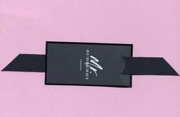 CARTE DE BURBERRRY INDIGO - Perfume Cards
