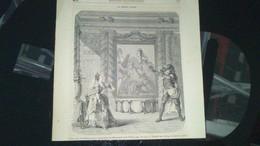 Affiche (gravure) -  Une Scène De ZEMIRE Et AZOR Opéra Ballet  De Marmontel Et De Grétry............. - Affiches