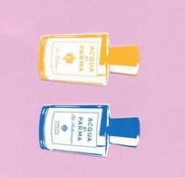 2 CARTES DE AQUA DI PARMA - Perfume Cards