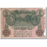 Billet, Allemagne, 50 Mark, 1910, 1910-04-21, KM:41, B - [ 2] 1871-1918 : German Empire