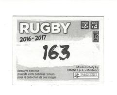 Panini Rugby 2016-2017 N° 163 Brillante - Panini