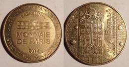 TOKEN JETON GETTONE MEDAGLIA  FRANCIA SPAGNA BARCELONA MONNAIE DE PARIS 2013 - Monetari / Di Necessità