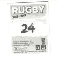 Panini Rugby 2016-2017 N° 24 - Panini