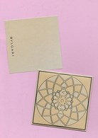 CARTE DANS UNE ENVELOPPE DE BVGARRI - Perfume Cards