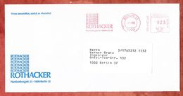 Infopost, Absenderfreistempel, Rothacker, 25 Pfg, Berlin 1980 (50080) - Berlin (West)