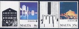 Malta 1987  - Europa Cept -  Set With Vignette MNH** - Europa-CEPT
