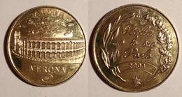 TOKEN JETON GETTONE MEDAGLIA  ARENA DI VERONA 2003 - Monétaires/De Nécessité