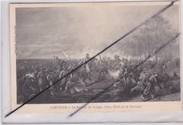 Arts;Tableau De DUVAUX) JANVILLE -La Bataille De Loigny(28) En 1870 - Peintures & Tableaux