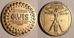 TOKEN JETON GETTONE MEDAGLIA CINQUANTENARIO DELLA FONDAZIONE AVIS 1977 - Monetary/Of Necessity