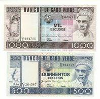 2000 And 1000 UNC Cape Verde - Cape Verde