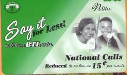 Belize - BZ-BLT-PRE-0022, Remote Memory, Communication, Man,Woman, Say It For Less!, Mint - Belize