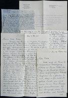 68 GERMANY: PHILIPPI, MARIA: Opera Singer (contralto) Born In Mülheim In 1875, 4 Letters - Autographs