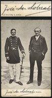 80 ANTARCTICA: SOBRAL José María (1880/1961), Argentine Antarctic Explorer, His Signatur - Autographs