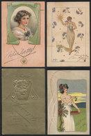 567 ARGENTINA: PHYSICIANS: 4 PCs Of 1905 With Autographs Of: M. Agote, Osvaldo Piñero, Z - Autographs