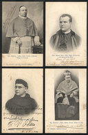 569 ARGENTINA: 41 PCs With Portraits Of Priest And Other Persons Of The Religious Field, - Autographs