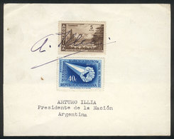585 ARGENTINA: ILLIA Arturo, Physician, President In 1963-1966, His Autograph On A Sheet - Autographs