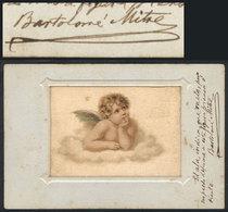 592 ARGENTINA: MITRE Bartolomé, Argentine Statesman, Military Figure And Author, Presiden - Autographs