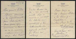 598 ARGENTINA: PANIZZA Hector: Composer And Conductor, Manuscript Letter Written In 1946 - Autographs