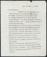 602 ARGENTINA: PANIZZA Hector: Composer And Conductor, Letter Written In Roma In 1949 To - Autographs