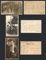 618 ARGENTINA: RIZZUTI José María: Pianist And Composer, 3 PCs With His Image, Sent By Ri - Autographs