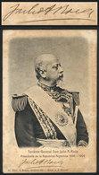 620 ARGENTINA: ROCA Julio Argentino, Twice President Of Argentina (1880-1886 And 1898-190 - Autographs