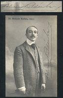623 ARGENTINA: ROLDÁN Belisario (1873/1922), Politician, Journalist, Playwright, His Auto - Autographs