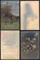 630 ARGENTINA: More Than 150 Postcards With Autographs Of Politicians, Writers, Layers, P - Autographs