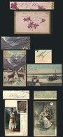 633 ARGENTINA: 5 Postcards With Autographs Of Various Famous Persons (politicians, Physic - Autographs
