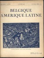 """677 BELGIUM: Magazine """"Belgique Amerique Latine"""", Volume Containing The Numbers Of The Ye - Boeken, Tijdschriften, Stripverhalen"""