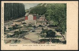 752 CHILE: CONCEPCIÓN: Plaza Euskar By Cerro Caracol, Ed. Carlos Brandt, Circa 1905, VF Q - Chile