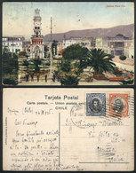 754 CHILE: IQUIQUE: Prat Square, Ed. Mendez, Sent To Italy In 1926, VF Quality - Chile