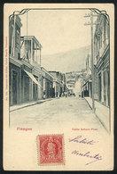 756 CHILE: PISAGUA: Arturo Prat Street, Ed. Carlos Brandt, Used, VF Quality - Chile