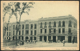 797 COLOMBIA: MEDELLIN: New Buildings,bank, Berrio Park, Dated 1923, VF - Colombia