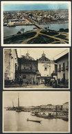 849 ECUADOR: 3 Old Postcards With Views Of GUAYAQUIL, VF General Quality. - Ecuador