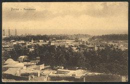 1268 LIBYA: DERNA: General View, Unused, VF - Libya