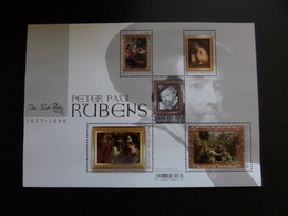 Feuillet  - Maîtres De La Peinture - Rubens 2018 - Kleinbögen