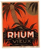 Etiquette Rhum Vieux - Etiquettes