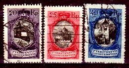Liechtenstein-137 - Emissione Del 1921 (o) Used - Senza Difetti Occulti. - Liechtenstein