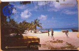Anguilla - GPT, C&W, ANG-1C, Meads Bay, CN: 1CAGC, 20 EC$, 10.000ex, 1989, Used - Anguilla