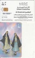 OMAN(chip) - Omani Costumes/Al Dhahirah, Chip CHT17, 10/04, Used - Oman