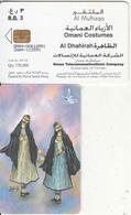 OMAN(chip) - Omani Costumes/Al Dhahirah, Chip Siemens 37, 10/04, Used - Oman