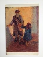 TN 1335 Prima Guerra Pubblicitaria Pubblicita Militare Cechi Legione Maly 1916 PAMATNIK ODBOJE Rusko N 27 Blind Man - Italia