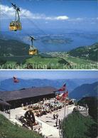 12481974 Stanserhorn Luftseilbahn Vierwaldstaettersee Bergrestaurant Stanserhorn - NW Nidwalden